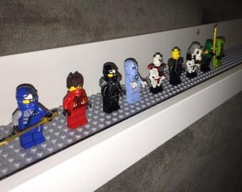Lego wall shelf 45 1/4