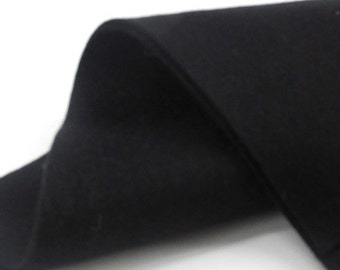 "100% Merino Wool Felt Sheet - Ebony - 8"" X 12"""