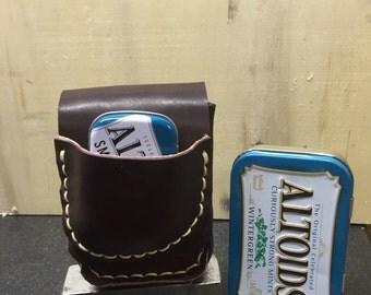 altoids tin leather case