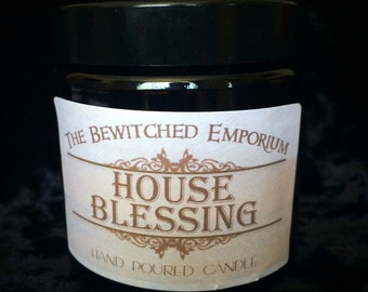 House blessing soy jar candle