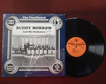 Buddy Morrow Vinyl LP Album Signed Autograph The Uncollected 1980 Hindsight Collectible Record B242