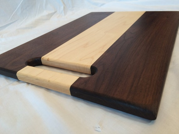 Walnut And Maple Wood Cutting Board