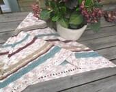 Hand knit shawl, Beige-pink-grey-maroon shawl, Beige Wrap, Shrug, Knit Wrap, Boho Shawl, Fall shawl, Autumn triangle, Unique, OOAK