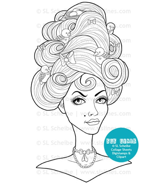 adult coloring book pdf pretty ladies beautiful women printable coloring pages of beautiful women for adults by sls lines 14 pages - Adult Coloring Book Pdf