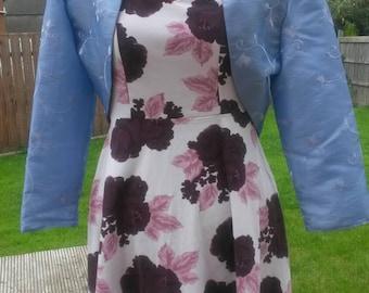 Bolero Shrug Jacket Lilac UK size 12 & 14