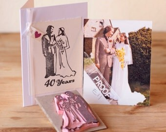Bespoke Handmade Rubber Stamp - From a Photograph