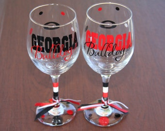 Georgia Bulldogs Glassware