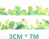 Cactus Washi Tape, Plants Washi Tape