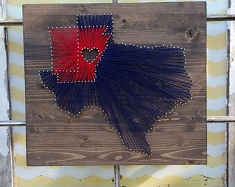 String Art States, Custom State Sign, Nail Art State, Hometown String Art, String States, Custom Wedding Gift Sign, Overlapping State Sign