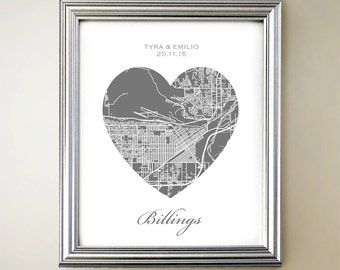 Billings Heart Map