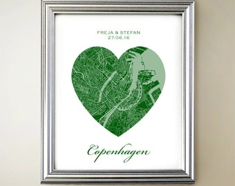 Copenhagen Heart Map