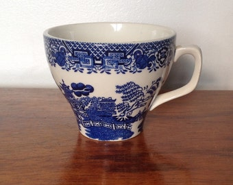 Wood's Willow Ware Teacup.