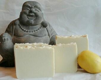 Lemongrass Shea Butter Soap -Living Soul Soap