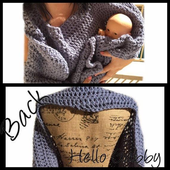 items similar to crochet receiving baby blanket for child or adult for wearable hospital blanket. Black Bedroom Furniture Sets. Home Design Ideas
