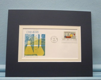 The Science of Chemistry & First Day Cover of its own stamp