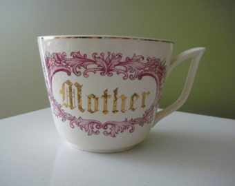 Vintage 'Mother' Mug/Tea Cup -Large -  Giftcraft Made in Japan