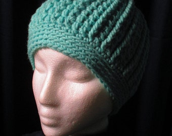 Women's Crocheted Cable Beanie