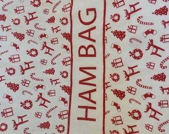 Ham Bag FABRIC - Natural