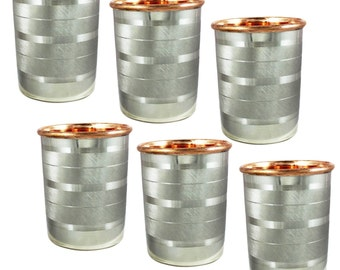 Copper and Stainless Steel Cup