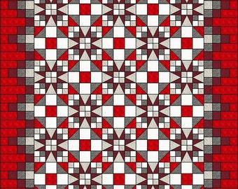 Irish Chain Quilt Pattern Braided Triple Irish Chain : triple irish chain quilt pattern - Adamdwight.com