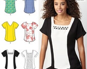 Simplicity Pattern 1316 Misses' Top with Neckline Variations