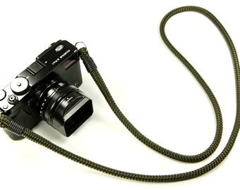 Non-adjust Neck Strap: Cord camera neck strap