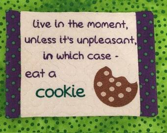 NNC ITH Cookie Mug Rug