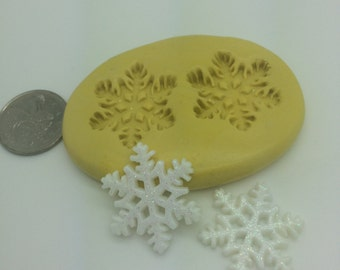 Medium Snowflake  Mold Set g-132