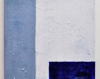 Agean Light - Blue and White