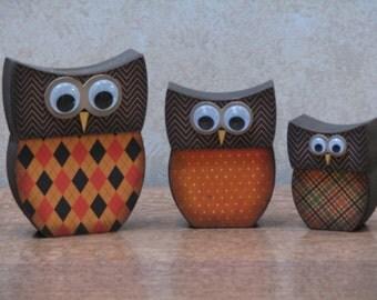Fall Owl Family #2