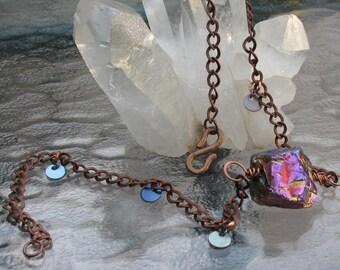 Titanium Quartz copper chain.