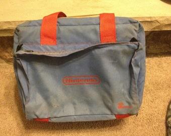 Original Nintendo Console Nes Carrying Case Travel Bag