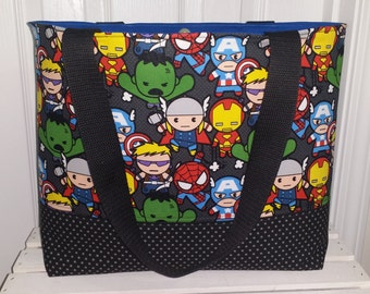 Marvel Kawaii 2 or 4 Pocket Baby Toddler Diaper Bag and Tote!