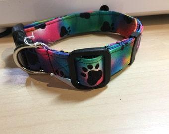 Multi color large collar