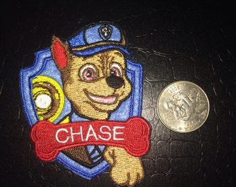 Paw Patrol Chase patch