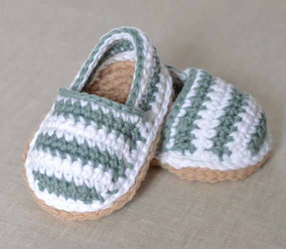 CROCHET Pattern Baby Shoes Espadrilles Crochet Pattern