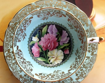 Reserved /Paragon Sweet Pea Tea cup