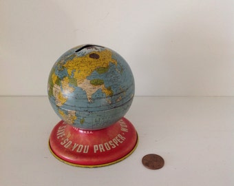 Ohio art globe bank
