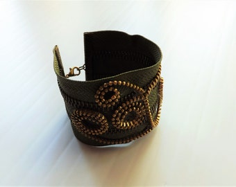 Labirinth -  zipper bracelet