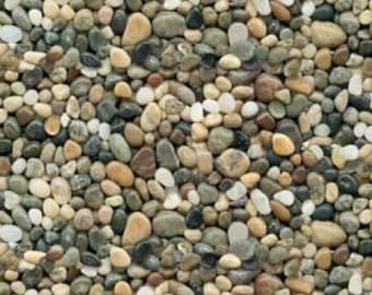 Pebbles Brown Hues Cotton Woven Fabric