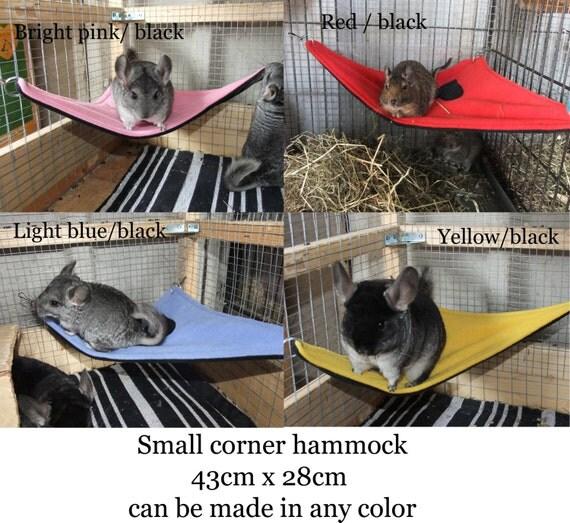 like this item  small corner pet hammcock chinchilla hammock rat hammock pet  rh   etsy