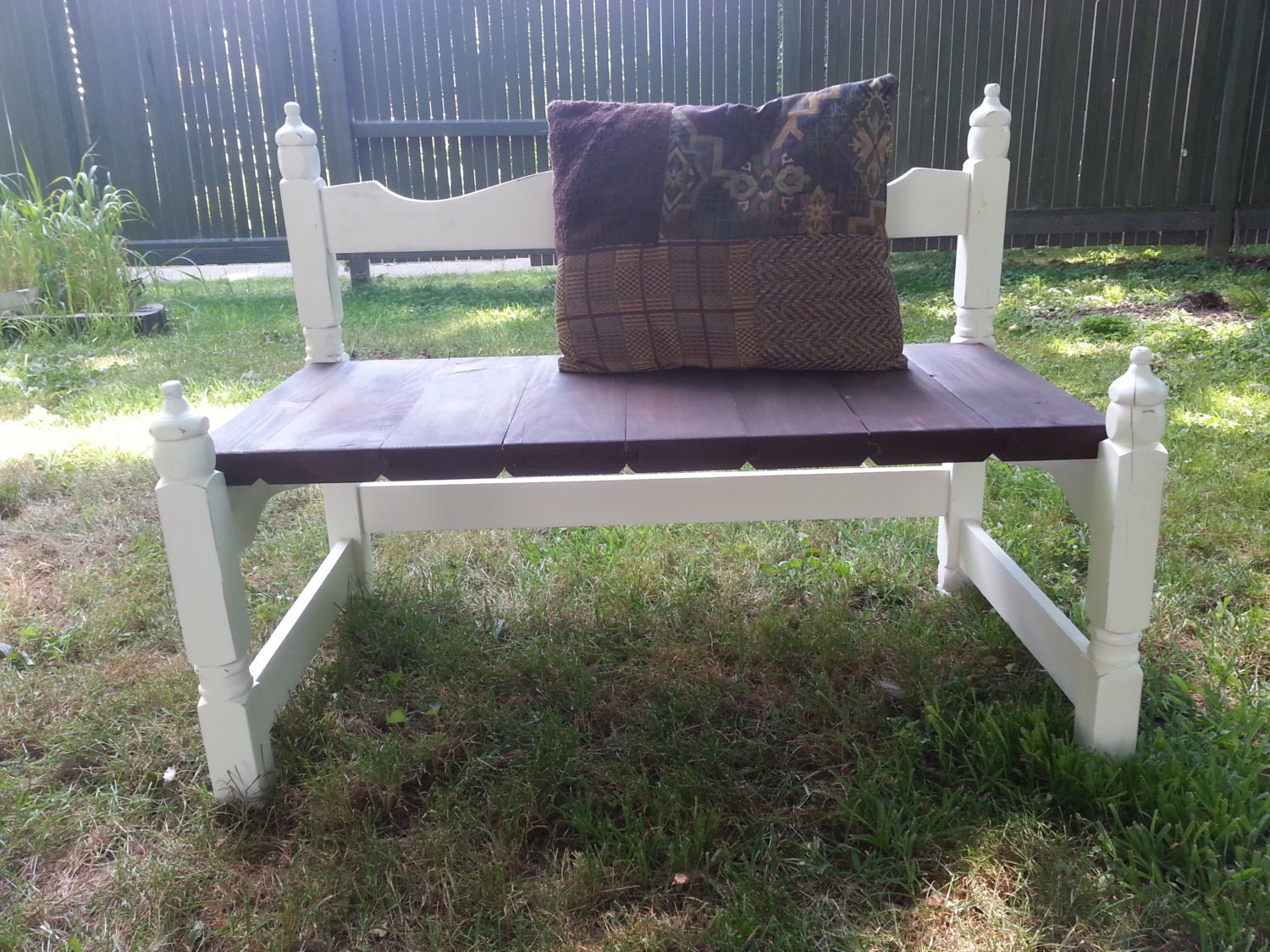 Headboard Footboard Bench By Therusticbumblebee On Etsy
