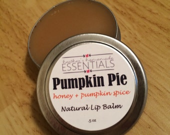 All Natural Lip Balm - Pumpkin Pie