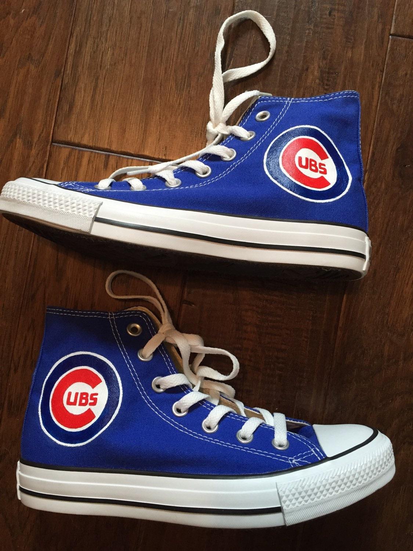 Chicago Cubs Converse Shoes