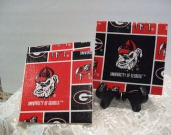 Georgia Bulldogs Coasters