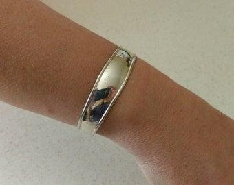 Handmade Solid 925 Sterling silver cuff bracelet