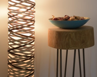 CONVOLUTION FLOOR LAMP