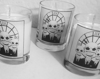 The Gentlemen - BTVS - Buffy The Vampire Slayer Themed Candle
