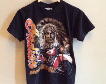 Vintage Indian Motorcycle shirt - MEDIUM