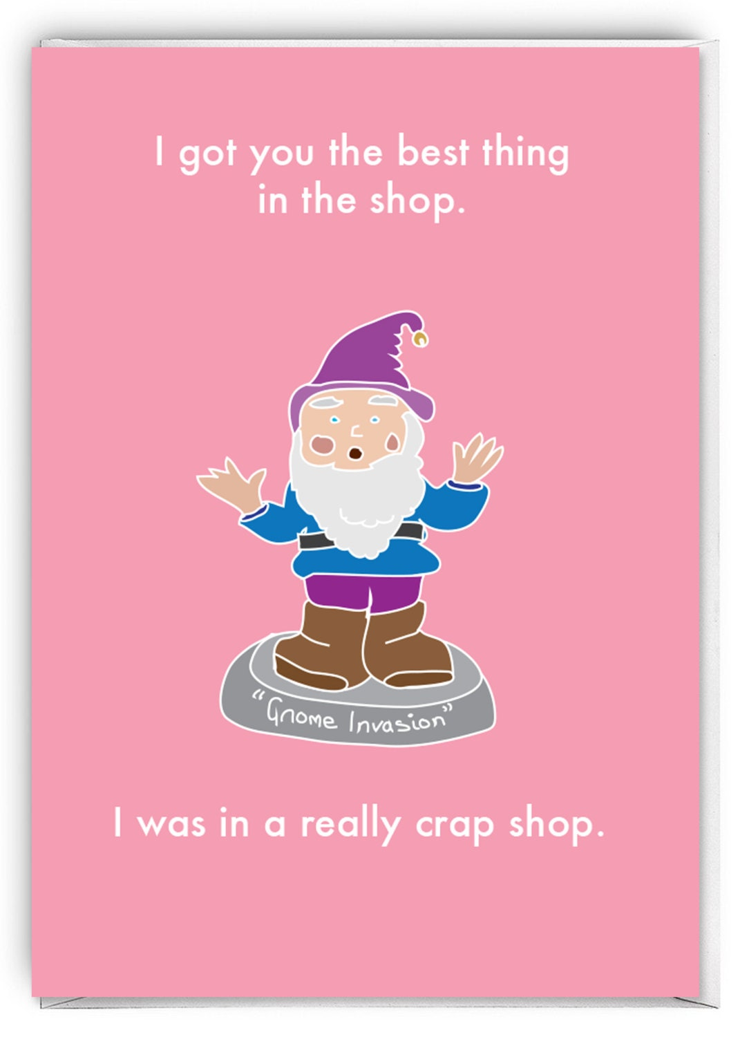 Funny greetings card funny birthday card gnome invasion funny greetings card funny birthday card gnome invasion bookmarktalkfo Image collections